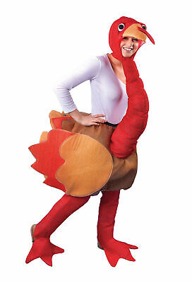 Adults Turkey Costume Christmas Festive Bird Animal Fancy Dress Outfit • 58.12£