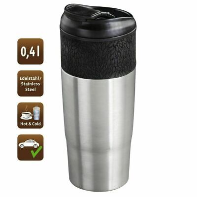 £9.92 • Buy Stainless Steel King Travel Mug Leak Proof Vacuum Insulated 400ml Hot/Cold