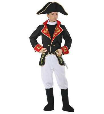 Boys Napoleon Childrens Costume French Sailor Soldier Dictator Fancy Dress • 20.43£