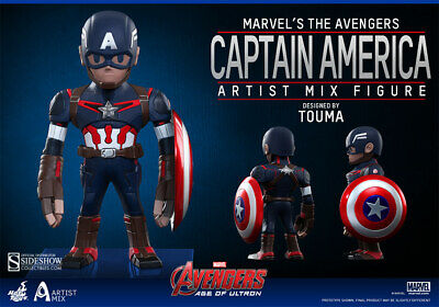 $ CDN58.25 • Buy Avengers: Age Of Ultron 8 Inch Figure Artist Mix 1 - Captain America Hot Toys