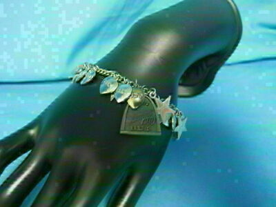 $ CDN6.70 • Buy Vintage Charm Bracelet With Lots Of Beta Sigma Phi Charms