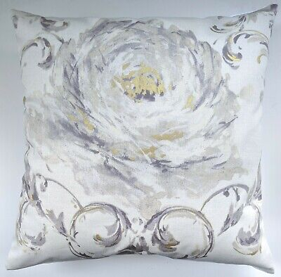 CLEARANCE Cushion Cover In Next Gold Rose Scroll 16  Matches Curtains • 6.99£