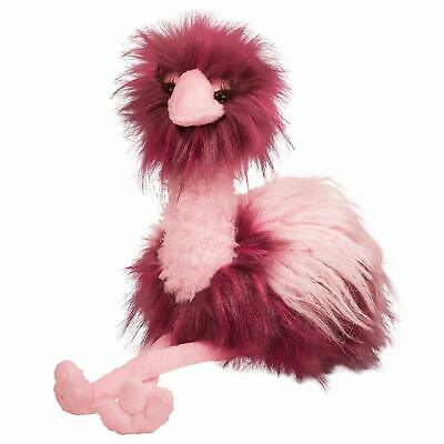 $27.95 • Buy Tatiana Douglas 11  Pink Ostrich Stuffed Animal Plush Cuddle Toy Bird