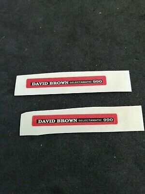 £2.10 • Buy Dinky 305 David Brown Selectamatic 990 Tractor Reproduction Paper Sticker Set