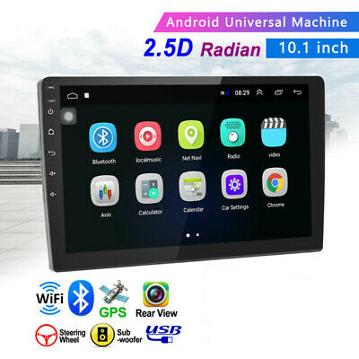 $148.68 • Buy 2+32G Android WIFI Multimedia Car 10.1  2Din Stereo Radio GPS Navigation Monitor