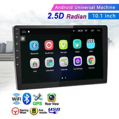$141.25 • Buy 2+32G Android WIFI Multimedia Car 10.1  2Din Stereo Radio GPS Navigation Monitor