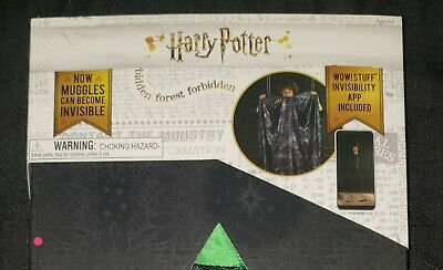 $17.99 • Buy Harry Potter Invisibility Cloak WOW STUFF Wizarding World Robe CLEAN!