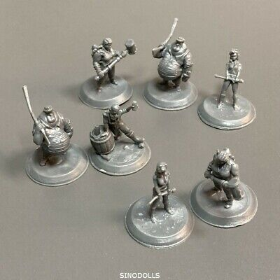 AU6.36 • Buy Lot 7PCS Dungeons & Dragons Board Game Miniatures D&D Role Playing Game Figures