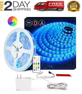 $31.99 • Buy Led String Strip Lights Color Changing Lamps Indoor Room Home Good For Party