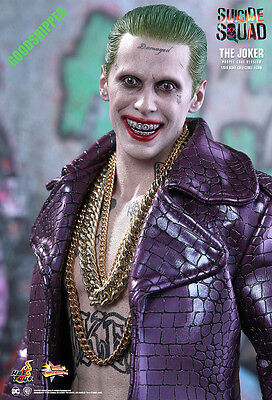 $215 • Buy Ready Hot Toys Suicide Squad Joker Purple Coat Jared Leto Normal Mms382 1/6 Misb