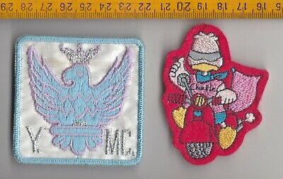 2 Motorcycle Club Patches Cloth Badges  • 1.95£