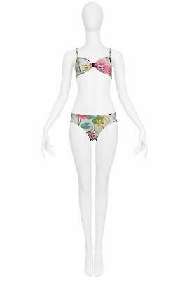 $450 • Buy Vintage Gucci By Tom Ford Floral Bikini Never Used 1999