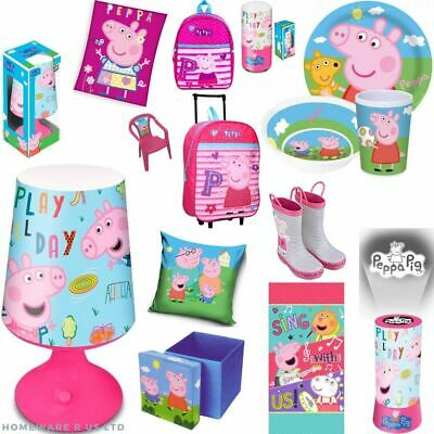 £11.69 • Buy Girls Pink  Peppa Pig Accessories Toys Lot Bags Wholesale Deals