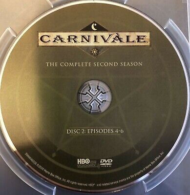Carnivale Second Season 2 Two -  Disc 2 DVD Only Free Shipping • 3.13£