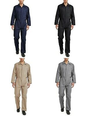 $19.49 • Buy TOPTIE Men's Long Sleeve Coverall, Snap And Zip-Front Coverall