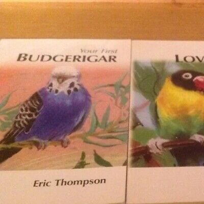 £2.49 • Buy Your First Budgerigar BIrd Care Book,Buying, Behaviour,Cleaning,Cages,Aviary,Foo