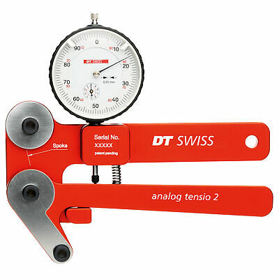 $661.59 • Buy DT-Swiss Tensio2 Analog Tensiometer, Red