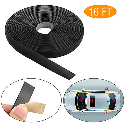 $9.98 • Buy 5M 16FT Rubber Seal Weather Strip Trim For Car Front Rear Windshield Sunroof US