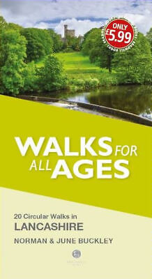Lancashire Walks For All Ages Book Bradwell Books • 5.66£