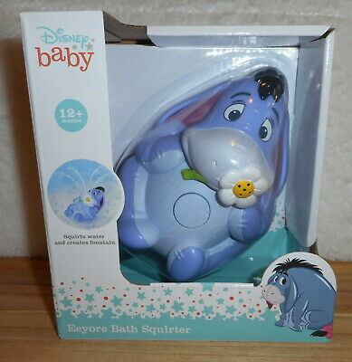 £5.05 • Buy Disney Baby Winnie The Pooh Eeyore Bath Squirter Bath Toy Ages 12 Month & Up New