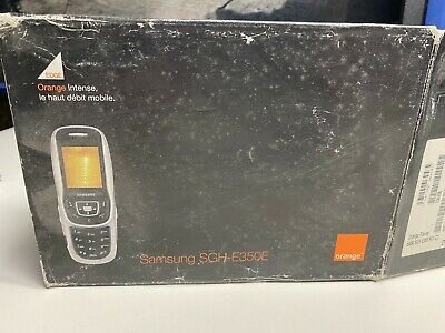 £68.22 • Buy Samsung SGH-E350E  Mobile Phone Old Stock Rare Collectors Mobile Phone Cell GSM