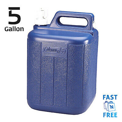 $28.79 • Buy Water Carrier 5 Gallon Storage Jug Camping Drinking Cooking Cleaning Container