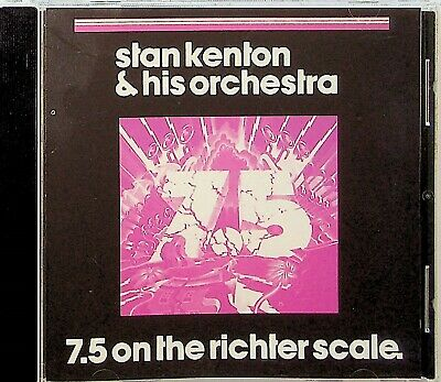 Stan Kenton & Orchestra-7.5 On The Richter Scale CD (Live & Let Die/Godfather)  • 5.54£