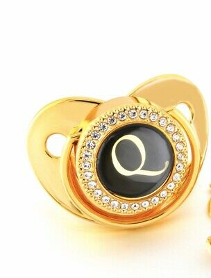 £10 • Buy Gold And Black Crystal Blingy Romany Dummy (Q)