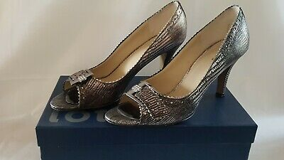 Lotus Pewter Snake Shoes Size UK 7  • 9.99£