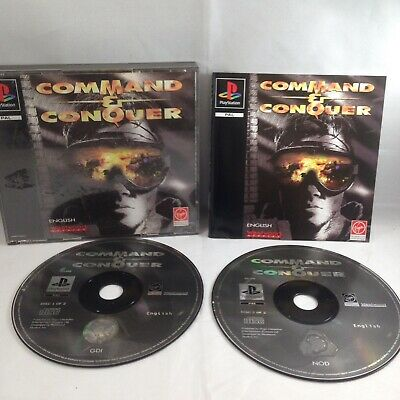 AU40 • Buy Command & Conquer (Sony PlayStation 1, 1995)