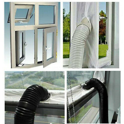 AU29.99 • Buy Hot Air Stop Waterproof Outlet Window Seal Kit For Mobile Air Conditioners AU