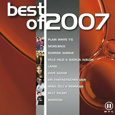 Best Of 2007 (EMI) + 2CD + Plain White T's, Sunrise Avenue, Nickelback, Dave ... • 3.45£