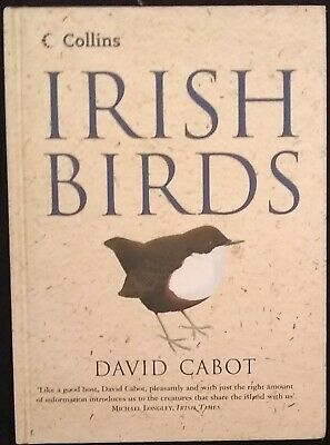 Collins Guide To Irish Birds By Cabot, David Hardback Book The Cheap Fast Free • 7.99£