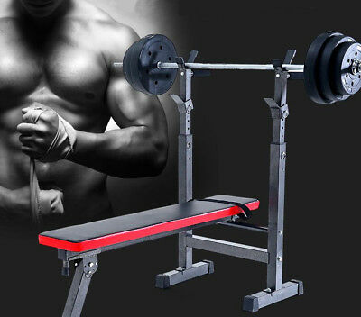 Folding Flat Weight Lifting Bench Body Workout Exercise Machine Home Fitness  • 179.99£