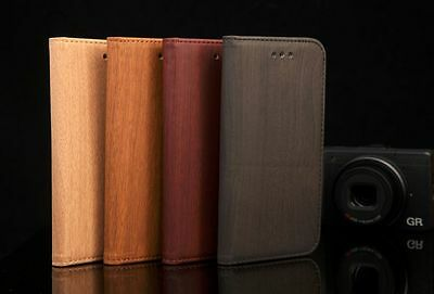 WOODEN LEATHER WALLET FIT CASE FOR IPhone 6 6S AND 6 Plus 6S Plus • 0.99£