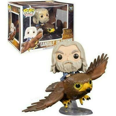 Gandalf On Gwaihir #72 Funko Pop Rides Figure The Lord Of The Rings Film  • 34.99£