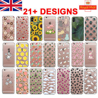 UK Soft Silicone Phone Case IPhone 11 PRO 6/7/X SAMSUNG S10 S20 HUAWEI P30 Lite • 4.65£