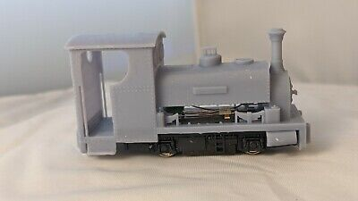 OO9 009 Hunslet 'cackler' Loco Body For KATO 103 And 109 • 25£