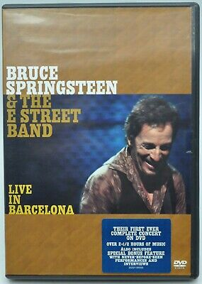 £6 • Buy Bruce Springsteen And The E Street Band: Live In Barcelona 2 DVD (2003)