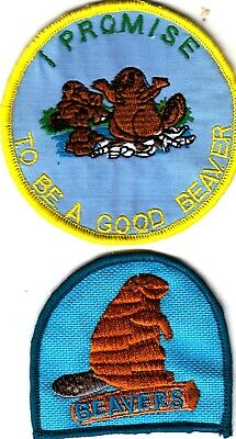 £1 • Buy Boy Scout Badges BEAVERS + I PROMISE TO BE A GOOD BEAVER