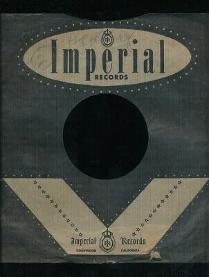 $10 • Buy 78 RPM Company Logo Sleeves-POST-WAR-IMPERIAL (Black)