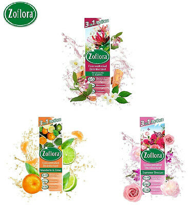 ZOFLORA 3in1 Anti Bacterial Disinfectant Concentrated 250ML CHOOSE FRAGRANCE  • 4.99£