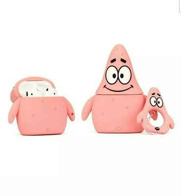 $ CDN16.40 • Buy Airpods Silicone Case Funny Cover Compatible Apple Patrick Star Color