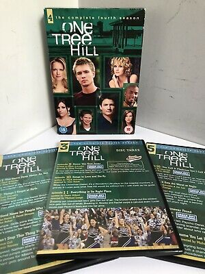 £4.99 • Buy One Tree Hill Season 4 Complete Fourth Series Dvd Boxset Include Unaired Scenes
