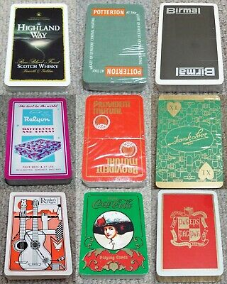 £6.99 • Buy Advertising Vintage Pack Of Playing Cards (e)