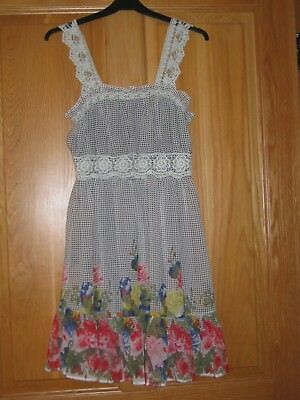 Ladies/girls Yumi Summer Dress Size S • 6£