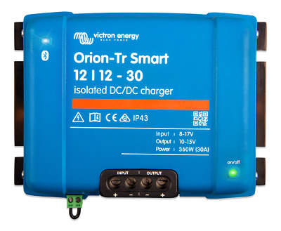 AU349 • Buy Victron Orion-Tr Smart 12/12-30A (360W) Isolated DC-DC Charger