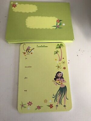 Party Invitations With Envelopes. They Can Be Use For A Party Or Luau As Well. • 18.40£