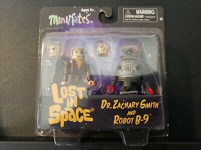 AU17.40 • Buy Lost In Space Dr. Smith And B9 Robot 2-Pack Minimates Figure