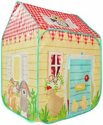 Chad Valley Wendy House Tent Folds Flat For Easy Storage When They're Done _UK • 29.99£